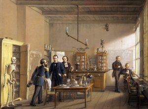 Otto_Eerelman_de_fysiologische_onderzoeksruimte_van_Professor_van_Deen_in_1862